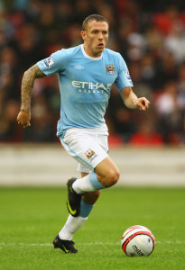 Bellamy in sky blue - ever popular at the Etihad