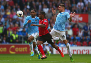 Heartless pair - Joleon Lescott and Javi Garcia went AWOL in City's defence
