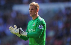 Scapegoat - City keeper Joe Hart was severely criticised for his performance in South Wales