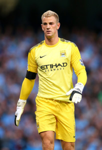 Yellow in peril? - Joe Hart is City and England's number one goalkeeper - long may it remain so