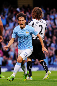 Magical Merlin - David Silva is in top form