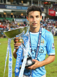 Jesus is on City's side - newcomer Navas with the Barclays Asia Trophy