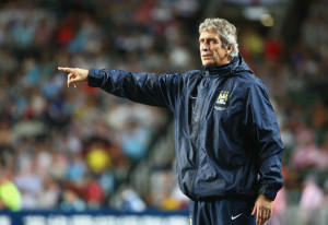 Trusted figure - City's new manager, Manuel Pellegrini