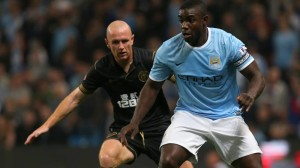 Richards' return - Micah was skipper for the nightCourtesy @ MCFC