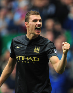 Edin for victory? - Dzeko put City in front for a second time...but still it didn't secure a point for the men in black