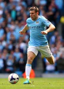 Play time - Fans favourite James 'Jimmy' Milner is another England international who could play a full game tonight