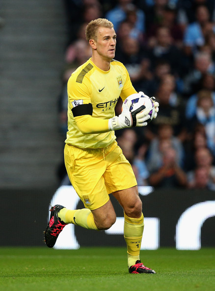 Comeback trail - Will a good performance tonight see Joe Hart back in City's Premier League line-up?