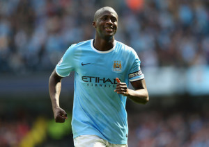 Back to front - should Yaya Toure be played further upfield?