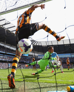 Back of the net - yes yes Yaya - Captain Toure secured City's win