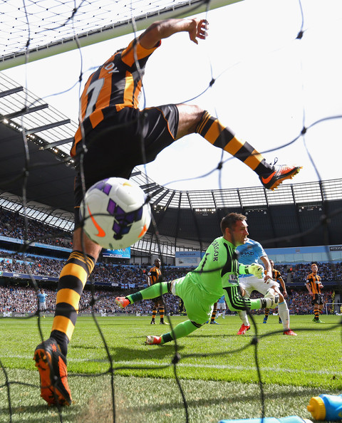Back of the net - City need to get their goal machine up and running again at Hull today.