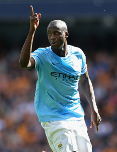 Leader of the pack - Yaya Toure needs to drive his team to a first PL win at Stoke