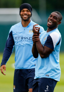 Missing in action - Joleon Lescott needs to step up to the plate whereas Micah Richards needs to get off the treatment table