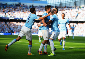 City celebrations - Pellegrini's men pounded United into the dirt