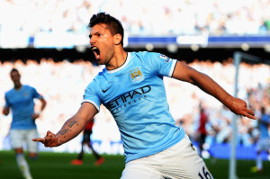 Absent Aguero - Sergio will be sadly missed at Villa Park
