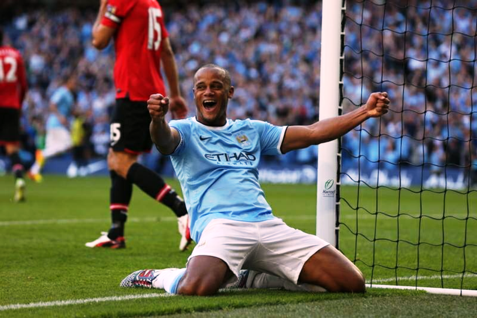 Belgian Boulder - Kompany will need to block out the threat of Rooney as City go for maximum points.