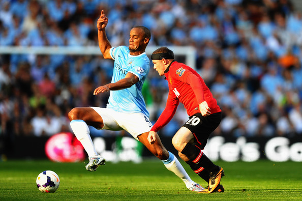 Head-to-head - Kompany against Rooney will be a key onfield battle at The Swamp.