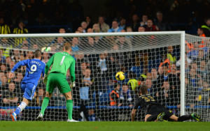 Hart stopper - City fell foul of a defensive mix up at Stamford Bridge