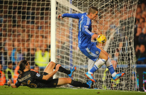 Flying Fernando - Typical, Torres chose to hit top form against City