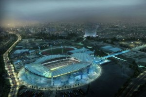 Vision of the future - A 60,000 plus capacity Etihad Stadium could be reality by 2015/16