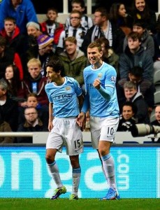 Edin to the last eight - Dzeko was on target yet again for City
