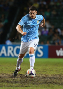Team GB - won't be seen in either sky or royal blue, but will the Etihad get the chance to say 'thanks' to Gaz Baz?