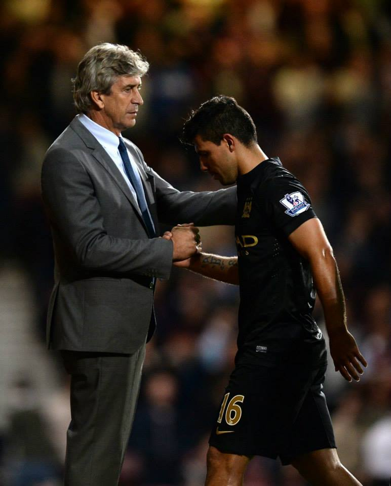 Together but apart - Pellegrini will miss Aguero's world class striking prowess