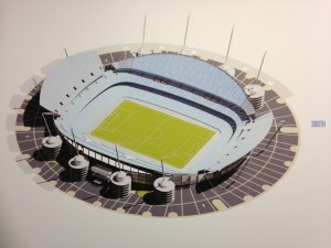 Topless image - a graphic from City's consultation exercise of an enlarged South Stand - minus the roof