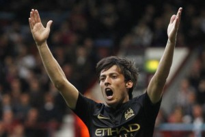 Magical Merlin - David Silva is in top form.Pic courtesy @MCFC