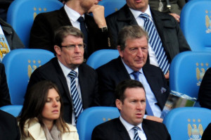 Woywatch - England Manager Roy Hodgson ran the rule over Joe Hart and James Milner at the Etihad