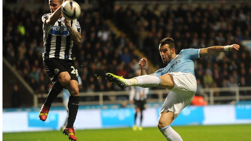 Beauty of The Beast - Negredo will be looking for goals 19, 20 even 21 at St James's Park