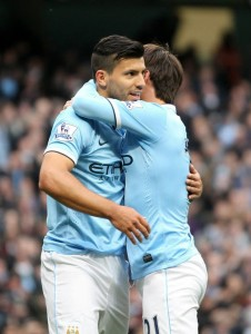 Blues Brother - Aguero & Silva were simply sublime