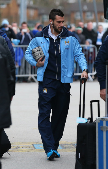 The Beast - oh so 'sixy' along with his City team mates