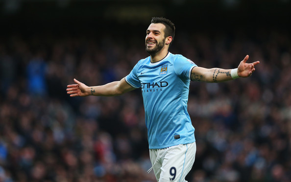 The Beast of Christmas Present - Alvaro Negredo leads City's attack  Courtesy @MCFC