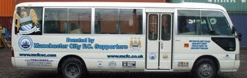 Ticket to ride - Manchester City's Official Supporters Club donated a mini bus to help the people of Sierra Leone