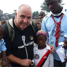 City gospel - Tony Griffiths converts young Africans to the MCFC cause