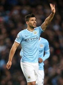 Supreme Sergio - 13 goals in 13 games - let's hope it's Sunderland who are unlucky today