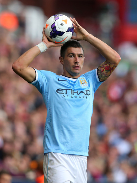 Captain Kolarov - Will Aleks lead City against Leicester after last week's stunning success in Munich?