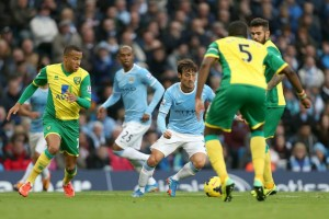 Sensational - Silva is pulling all the strings and back to his supreme best Courtesy of @MCFC