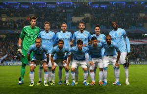 Knockout - City qualified for the last 16 stage of the Champions League - Courtesy @MCFC