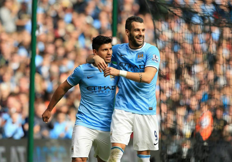 Benchwarmers both - Aguero & Negredo are likely to be held in reserve in the Allianz Arena