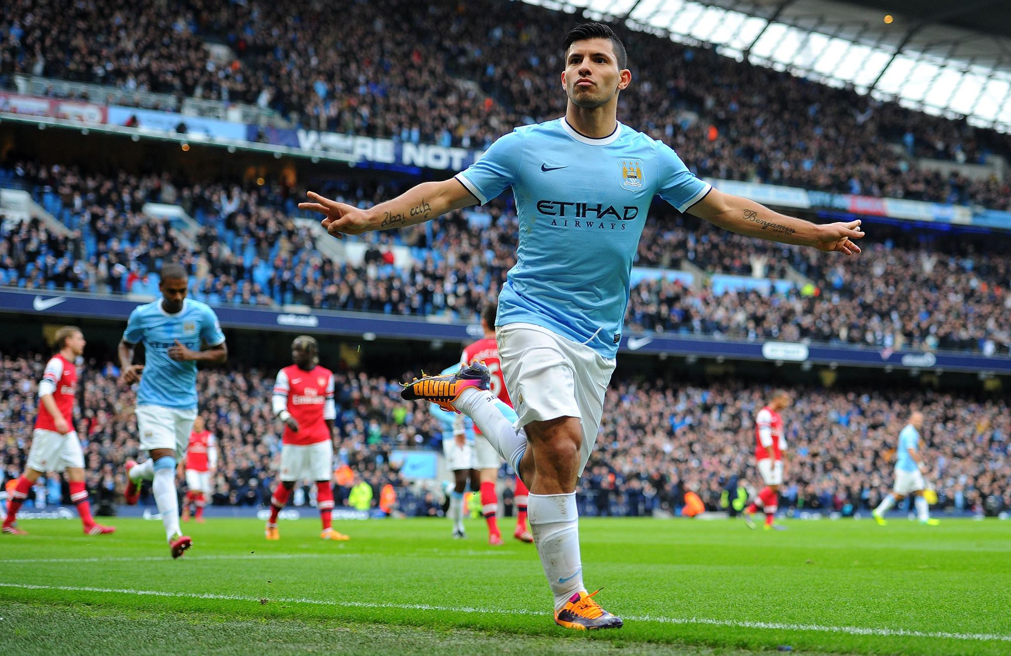 Returning hero - Sergio is poised to be back for City next week