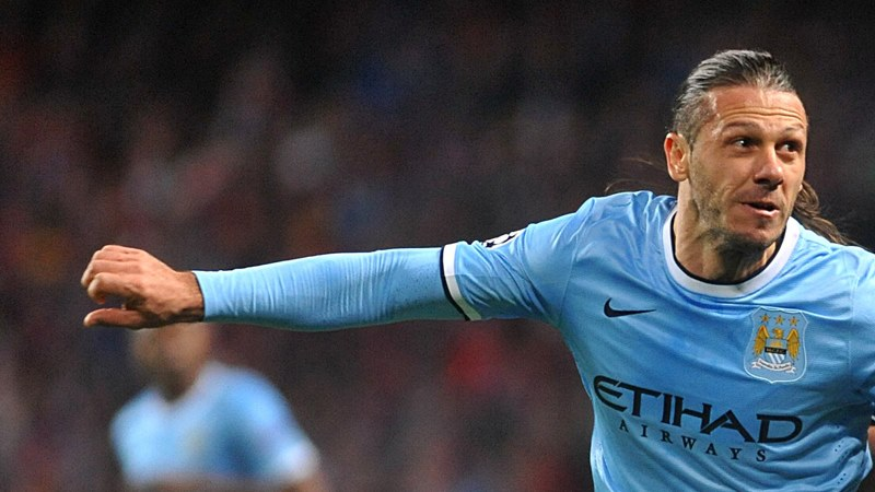 Pin the tail on the donkey - Demichelis struggled at Southampton Courtesy @:MCFC