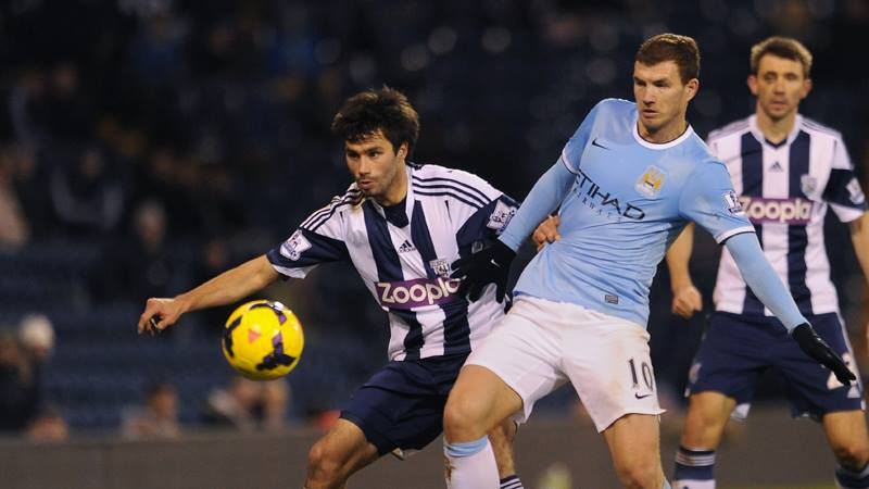 Disappointing Dzeko - Edin's contribution was limited as City won at WBA Courtesy @MCFC