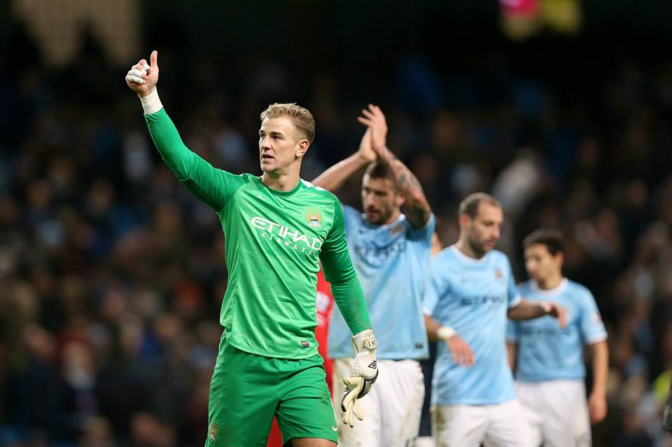 Hotstop Hart - Another great display from Joe shows why he is back as Number 1  Courtesy @MCFC