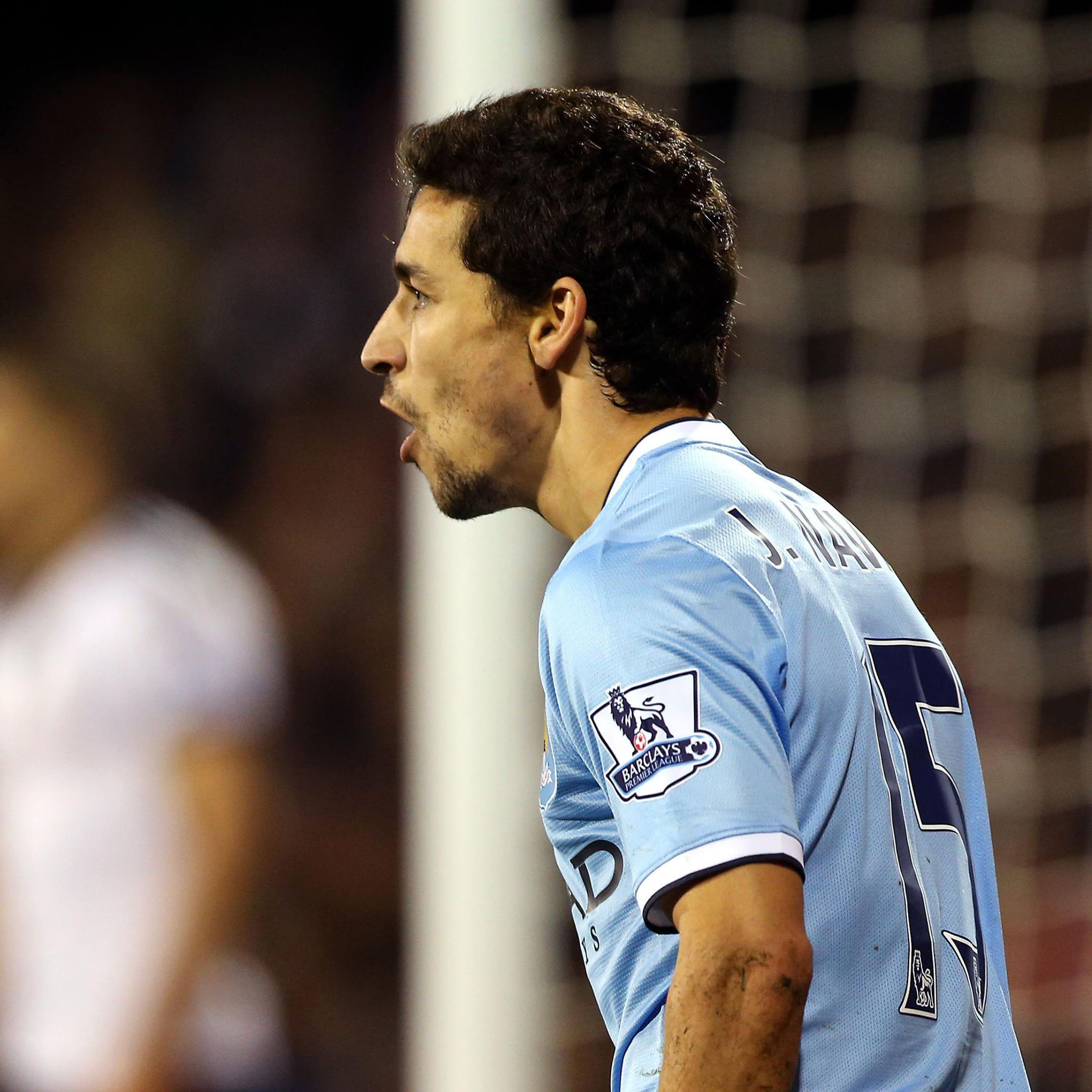 City savour - Jesus Navas saved Christmas for the men from Manchester - nudging them to victory Courtesy @MCFC