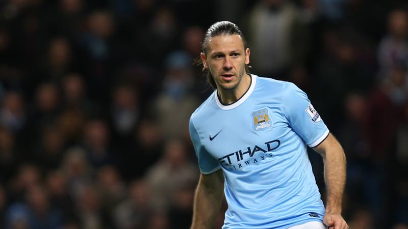 Keeping Kompany company - Martin Demichelis is a worry at the heart of City's defence