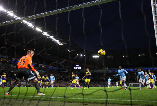 Beast of a goal - Negredo's sumptuous shot leaves Swan's keeper Tremmel rooted