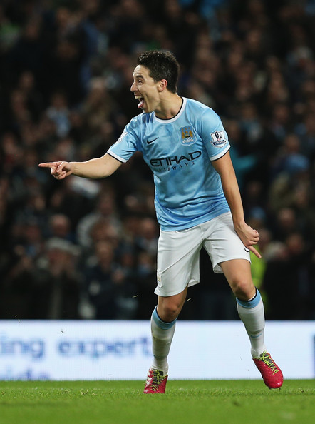 Magnifique - Nasri is excelling in his third season with City