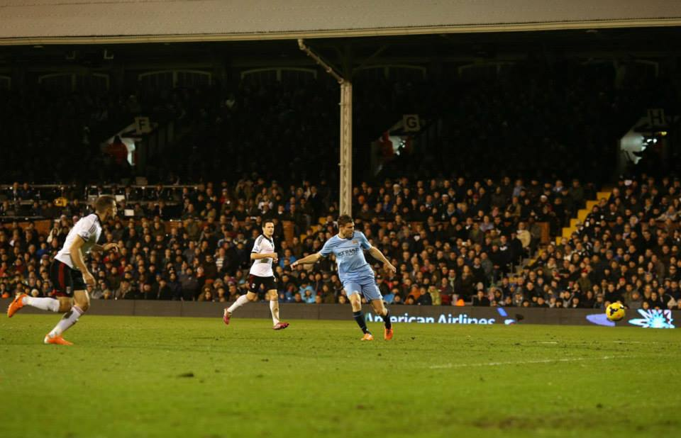 Finishing touch - James Milner scores to secure all three points  Courtesy @MCFC