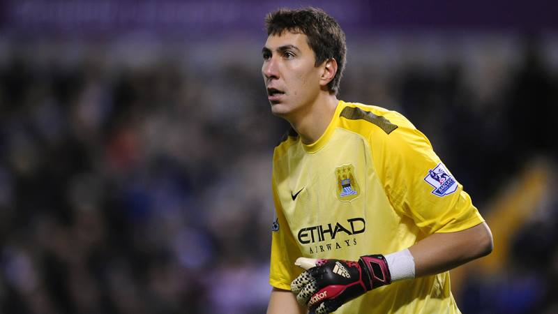 Unlucky Pants - Costel was the victim of an own goal deflection Courtesy @MCFC